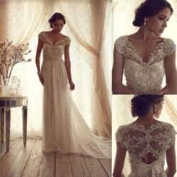 lace wedding dresses vintage gorgeous cbell vintage lace wedding dress 2045662 weddbook