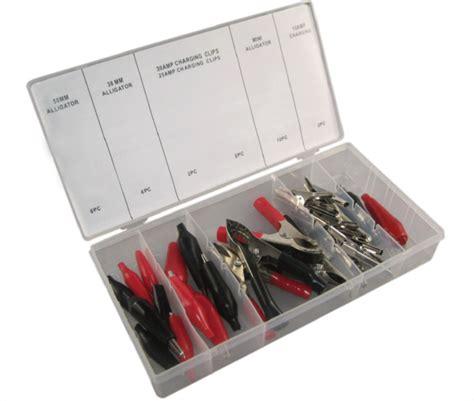tc tools  pc alligator clip clamp assortment