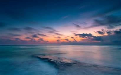 Background Wallpapers Water Sea Ocean Sky Clouds