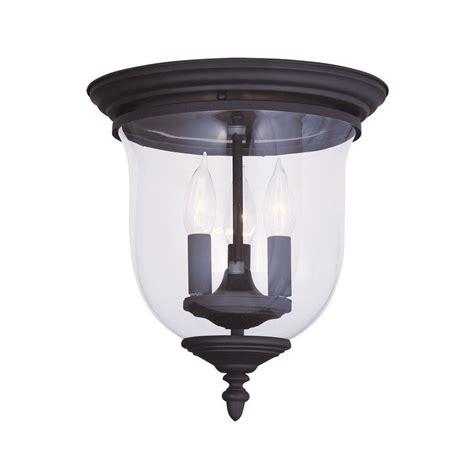 single bulb flush mount light shop livex lighting legacy 11 5 in w black flush mount