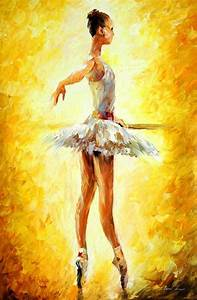 Ballerina, Leonid Afremov 1024 - Painting You With Words