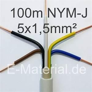 Erdkabel 5x1 5 100m : nym j 5x1 5mm ring 100m grau stromkabel elektromaterial g nstig online kaufen bei e ~ Watch28wear.com Haus und Dekorationen