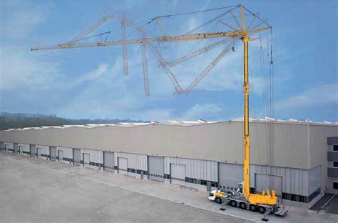 Self Erecting Tower Crane - Liebherr MK100/110 ...
