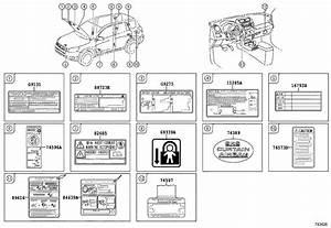 Toyota Rav4 Label  Cooling Fan Information  Turkey