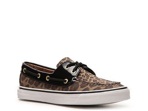 Leopard Boat Shoes by Sperry Top Sider Biscayne Leopard Boat Shoe Dsw
