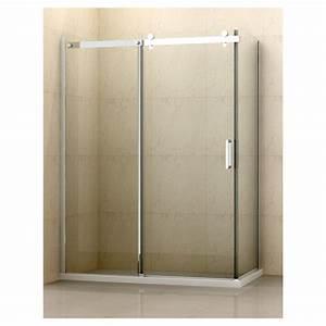 panneau de cote pour douche dettifoss 301quot x 75quot clair With porte de douche rona
