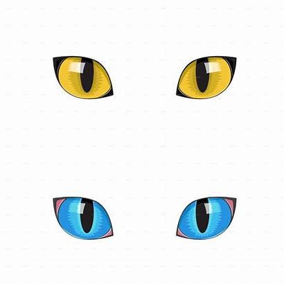 Eyes Cat Eye Clip Transparent Clipart Cartoon