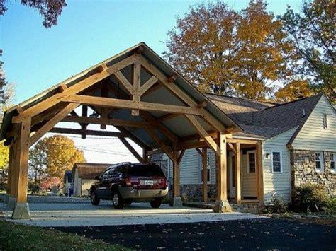 timber frame carports 7 best timber frame pavilion plans images on