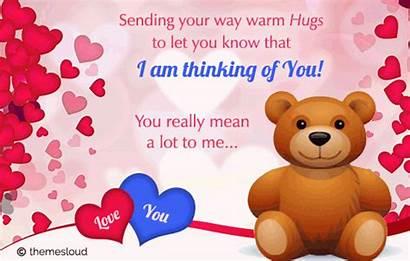 Thinking Hugs Lot Mean Hug Lots Quotes