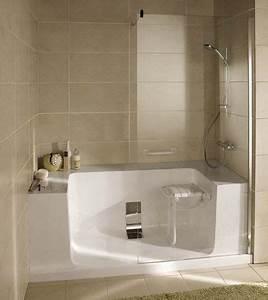 Installation D Une Cabine De Douche : remplacer une baignoire par une douche les solutions ~ Premium-room.com Idées de Décoration