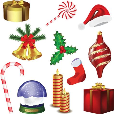 xmas decorations clipart clipart bay
