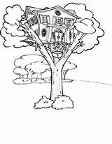 Coloring Tree Treehouse Pages Magic Elevator Magical Drawing Jack Annie Fairy Getdrawings Printable Getcolorings Sketch Gladiators Template sketch template