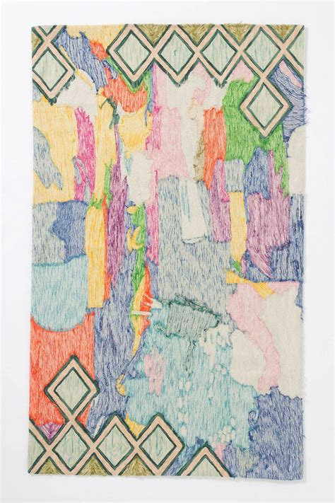 Anthropologie Rugs by Crewel Abstraction Rug Anthropologie The Textile