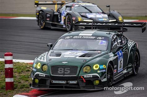 bentley motorsport gains valuable experience  grueling
