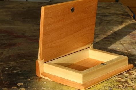 Wooden Book by Make A Wooden Book Keepsake Box Woodworking For Mere