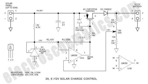 vv solar charge control circuit