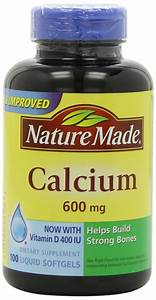 Nature Made Calcium  Carbonate  600 Mg W  And 50 Similar Items
