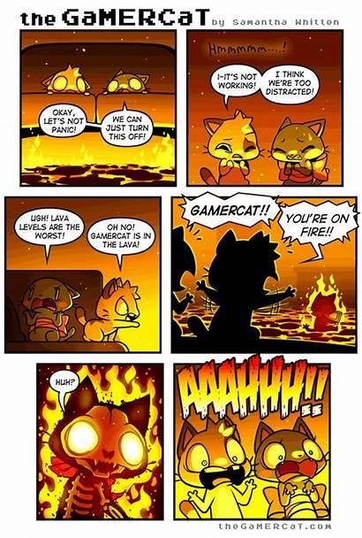 Comics Gamercat Gamer Cat Funny Comic Sunday