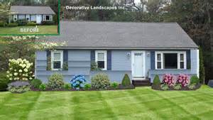 Landscaping For Ranch Style Homes by Front Yard Landscape Design Madecorative Landscapes Inc