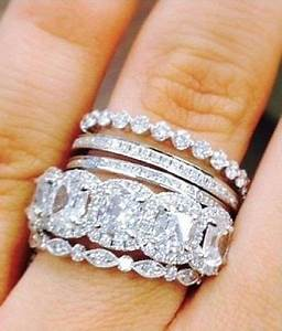 25 Best Ideas About Stacked Engagement Ring On Pinterest