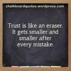 untrustworthy | Chalkboard Quotes