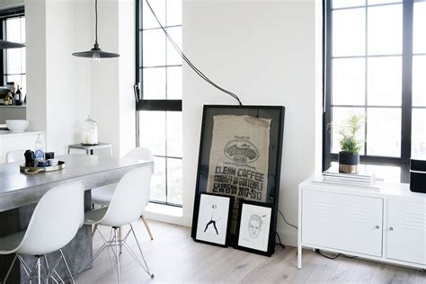 cottage style living room a scandinavian industrial interior in nyc grey lucky
