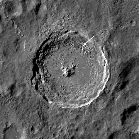 NASA - Ejecta in Tycho Crater