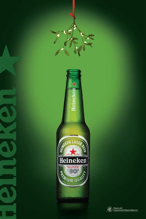 heineken christmas bottle heineken 6sheet jpg 900 215 1350 饮品 heineken and ads