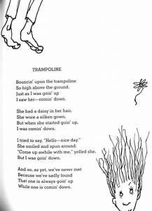 Shel Silverstein - Trampoline | Shel Silverstein ...