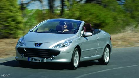 Peugeot 307 Cc 2005 Car Hd Wallpaper