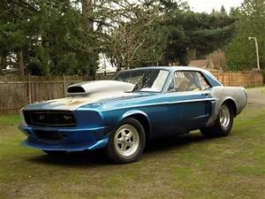 1967 Ford Mustang Drag Car 514 Cubic Inch Big Block Ford