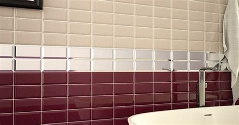 metro burgundy wall tile  tiles pinterest