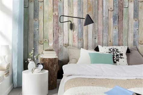 schöne tapeten für schlafzimmer tapete in holzoptik 24 effektvolle wandgestaltungsideen
