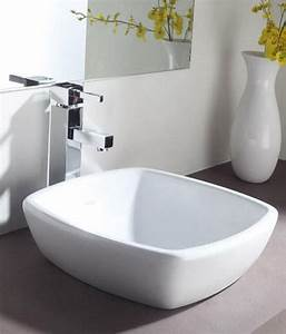 Buy Hindware Table Top Basin Dove 44x44 Ivory 10092i