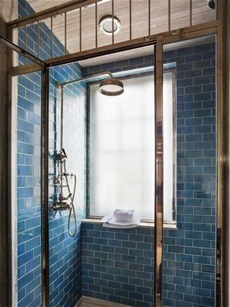 blue subway tile shower steven gambrel interior design