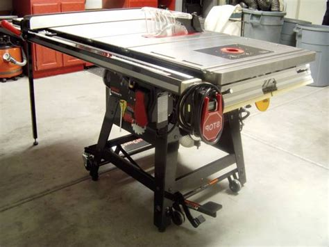 sawstop table saw dimensions pleasing sawstop contractor saw review page 6 router
