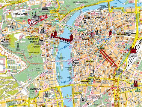 map  prague czech republic