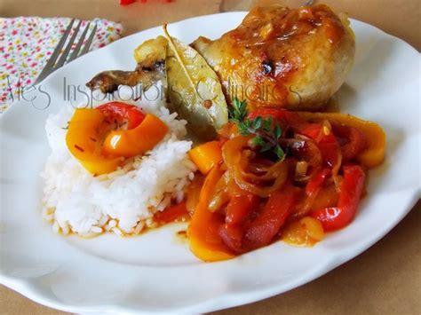 recette poulet basquaise le cuisine de samar
