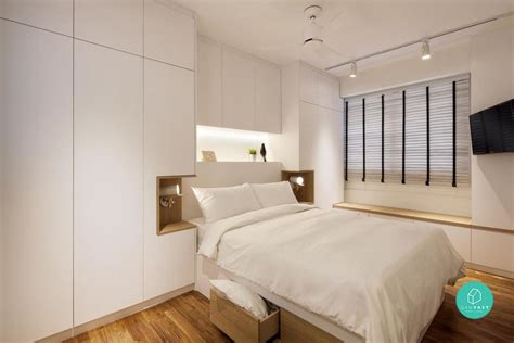 Small Master Bedroom Design Singapore by 5 Ways To Maximise Your Master Bedroom Floor Area Qanvast