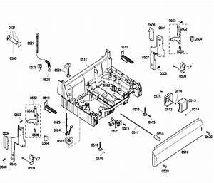 Bosch Shu43c02uc  40 Dishwasher Parts