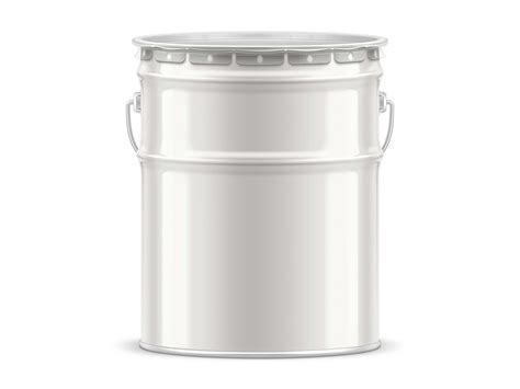 Free for personal and commercial use zip file includes: Free Tin Paint Bucket Mockup (PSD)