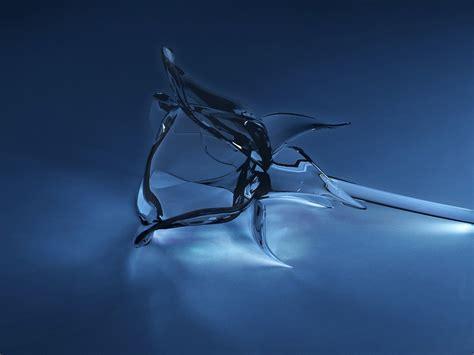 Glass Rose 3d Concept Wallpaper