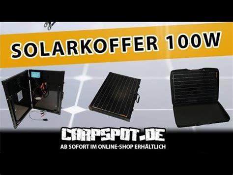 carpspot solarkoffer  watt im hardcase mit usb kfz
