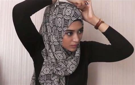 tutorial hijab wanita elegant  natasha farani