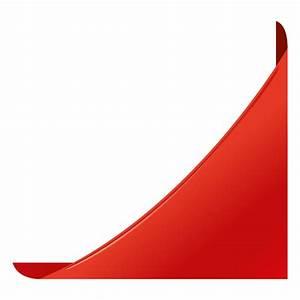 Red corner label - Transparent PNG & SVG vector