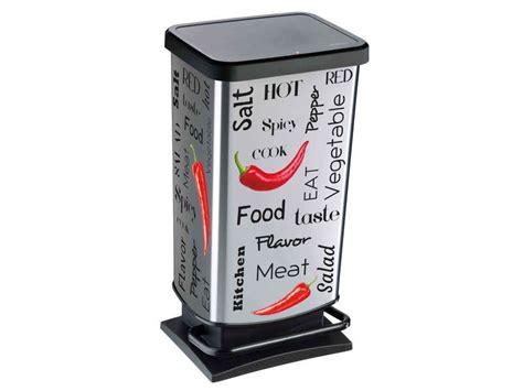 poubelle cuisine conforama poubelle de cuisine 40l spicy vente de poubelle de