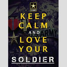 Army Keep Calm Poster