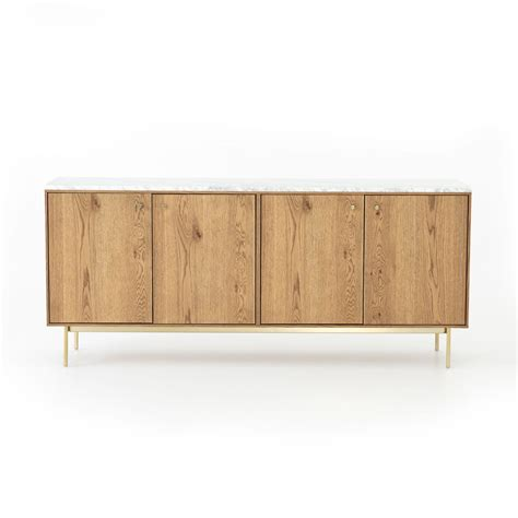 Slim Oak Sideboard by Montrose Sideboard In Slim Oak By Bd Studio Burke Decor