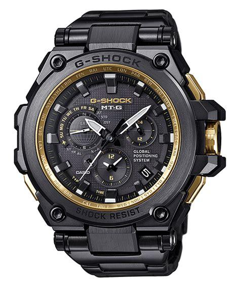 g shock mt g black mtg g1000 new g shock mt g with gps hybrid timekeeping g