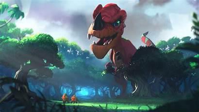 Goro Un Journey Hearthstone Wallpapers Ungoro Dinosaur